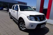 2014 Nissan Navara D40 S5 MY12 ST-X White 7 Speed Sports Automatic Utility Hoppers Crossing Wyndham Area Preview