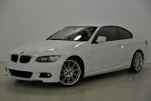 2009 BMW 320D E92 MY10 Steptronic White 6 Speed Sports Automatic Coupe Mansfield Brisbane South East Preview
