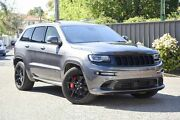 2016 Jeep Grand Cherokee WK MY16 SRT Night Edition Grey 8 Speed Sports Automatic Wagon Greenacre Bankstown Area Preview