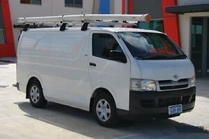 2007 Toyota Hiace KDH201R LWB White 5 Speed Manual Van Kenwick Gosnells Area Preview