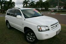 2005 Toyota Kluger MCU28R MY06 CVX AWD White 5 Speed Automatic Wagon Townsville Townsville City Preview