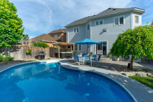 Open House Sunday MOVE IN READY! 4+1 Bdrm 6 Bath & Inground Pool