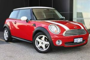 2009 Mini Hatch R56 Cooper Steptronic Chilli Red/Black 6 Speed Sports Automatic Hatchback