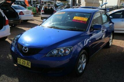 2008 Mazda 3 BK MY08 NEO Sport Blue 4 Speed Auto Activematic Hatchback Minchinbury Blacktown Area Preview