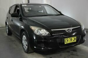 2011 Hyundai i30 FD MY11 SX Black 4 Speed Automatic Hatchback Maryville Newcastle Area Preview