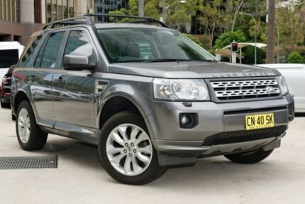 2010 Land Rover Freelander 2 LF MY11 SD4 SE Grey 6 Speed Sports Automatic Wagon
