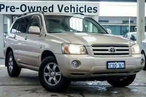 2004 Toyota Kluger MCU28R CVX (4x4) Gold 5 Speed Automatic Wagon Cannington Canning Area Preview