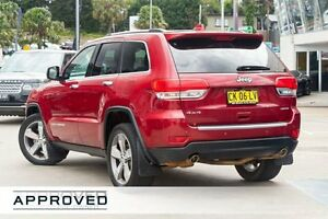 2014 Jeep Grand Cherokee WK MY2014 Limited Red 8 Speed Sports Automatic Wagon Brookvale Manly Area Preview