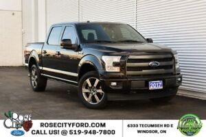 2017 Ford F-150 Lariat Sport / 4x4 / Accident Free / Backup Cam