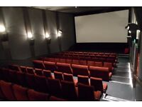 Rent our a screen / cinema for your birthday parties/ private screening