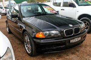 1998 BMW 318I E36 Black 4 Speed Automatic Sedan Colyton Penrith Area Preview