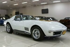1968 Chevrolet Corvette Stingray White Automatic Coupe Carss Park Kogarah Area Preview