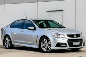 2014 Holden Commodore VF MY14 SV6 Silver 6 Speed Sports Automatic Sedan Pakenham Cardinia Area Preview