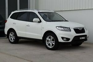 2011 Hyundai Santa Fe CM MY10 Highlander White 6 Speed Sports Automatic Wagon Rutherford Maitland Area Preview