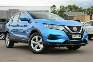 2018 Nissan Qashqai J11 Series 2 ST X-tronic Blue 1 Speed Constant Variable Wagon McGraths Hill Hawkesbury Area Preview