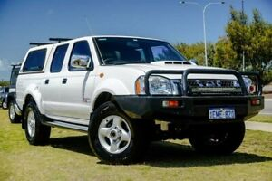2014 Nissan Navara D22 S5 ST-R White 5 Speed Manual Utility Clarkson Wanneroo Area Preview