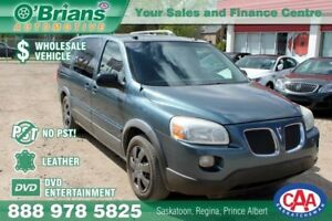 2006 Pontiac Montana SV6 Wholesale Unit, No PST! w/DVD