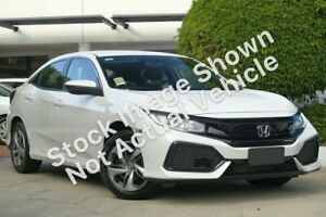 2019 Honda Civic 10th Gen MY18 VTi White 1 Speed Constant Variable Hatchback Ravenhall Melton Area Preview