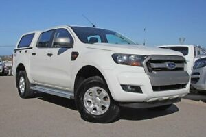 2016 Ford Ranger PX MkII XLS Double Cab White 6 Speed Sports Automatic Utility Wangara Wanneroo Area Preview