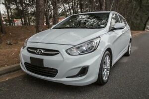 2017 Hyundai Accent RB5 MY17 Sport White 6 Speed Sports Automatic Hatchback Reynella Morphett Vale Area Preview