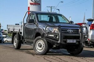 2016 Toyota Hilux GUN126R SR Grey 6 Speed Manual Cab Chassis Monkland Gympie Area Preview
