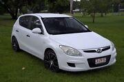 2008 Hyundai i30 FD SX White 5 Speed Manual Hatchback Winnellie Darwin City Preview