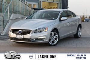 2014 Volvo S60 T5 Premier. LTHR, MOONROOF,ALLOYS