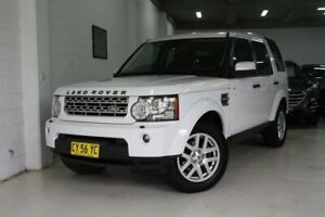 2010 Land Rover Discovery 4 Series 4 10MY TdV6 CommandShift White 6 Speed Sports Automatic Wagon Castle Hill The Hills District Preview