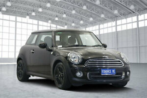 2013 Mini Hatch R56 LCI Cooper D Black 6 Speed Manual Hatchback