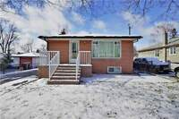 DETACHED BUNGALOW! FINISHED BASEMENT APARTMENT! CALL TODAY!