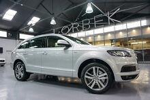 2013 Audi Q7 MY13 3.0 TDI Quattro Ice Silver 8 Speed Tiptronic Wagon Port Melbourne Port Phillip Preview