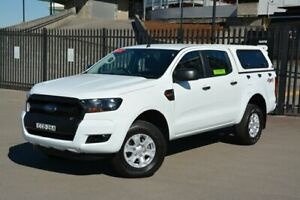 2017 Ford Ranger PX MkII XL Double Cab White 6 Speed Sports Automatic Utility New Lambton Newcastle Area Preview