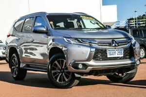 2018 Mitsubishi Pajero Sport QE MY18 Exceed Silver 8 Speed Sports Automatic Wagon Rockingham Rockingham Area Preview