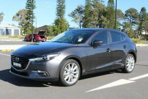 2018 Mazda 3 BN5438 SP25 SKYACTIV-Drive GT Grey 6 Speed Sports Automatic Hatchback Port Macquarie Port Macquarie City Preview