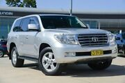 2011 Toyota Landcruiser UZJ200R MY10 Sahara Silver 5 Speed Sports Automatic Wagon Castle Hill The Hills District Preview