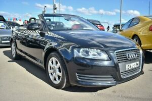 2010 Audi A3 8P MY10 TFSI S Tronic Attraction Black 7 Speed Sports Automatic Dual Clutch Convertible Liverpool Liverpool Area Preview