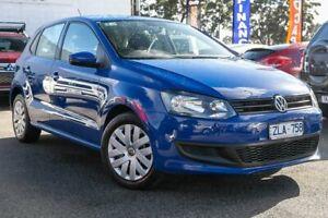 2012 Volkswagen Polo 6R MY13 Trendline Blue 5 Speed Manual Hatchback Dandenong Greater Dandenong Preview