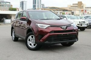 2017 Toyota RAV4 ASA44R GX AWD Deep Red 6 Speed Sports Automatic Wagon Northbridge Perth City Area Preview