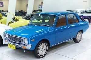 1973 Mazda 1300 Deluxe Blue 4 Speed Manual Sedan Carss Park Kogarah Area Preview