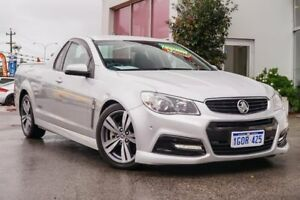 2013 Holden Ute VF MY14 SS Ute Silver 6 Speed Manual Utility Myaree Melville Area Preview