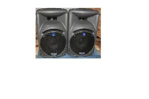 Mackie active speakers pair