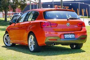 2017 BMW 118d F20 LCI M Sport Steptronic Orange 8 Speed Sports Automatic Hatchback