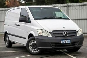 2014 Mercedes-Benz Vito 639 MY14 113CDI SWB White 6 Speed Manual Van