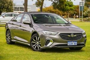 2018 Holden Commodore ZB MY18 RS Liftback Grey 9 Speed Sports Automatic Liftback Burswood Victoria Park Area Preview