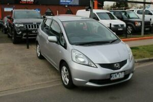 2008 Honda Jazz GE GLi Silver 5 Speed Manual Hatchback Hoppers Crossing Wyndham Area Preview