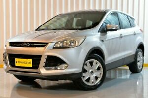 2014 Ford Kuga TF Ambiente AWD Silver 6 Speed Sports Automatic Wagon