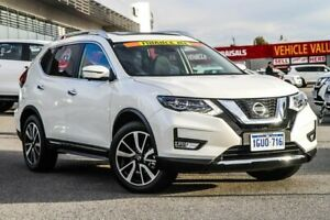 2018 Nissan X-Trail T32 Series II Ti X-tronic 4WD White 7 Speed Constant Variable Wagon Wangara Wanneroo Area Preview