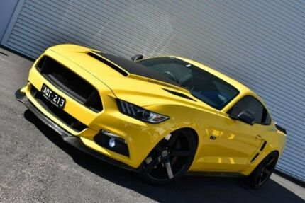 2017 Ford Mustang FM MY17 GT Fastback Yellow 6 Speed Manual Fastback