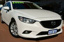 2013 Mazda 6 GJ1031 Sport SKYACTIV-Drive White 6 Speed Sports Automatic Wagon Gosnells Gosnells Area Preview