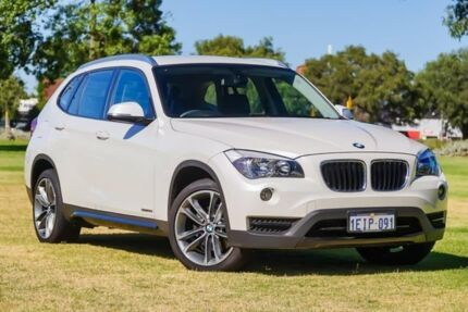 2013 BMW X1 E84 LCI MY0713 sDrive20i Steptronic White 8 Speed Sports Automatic Wagon
